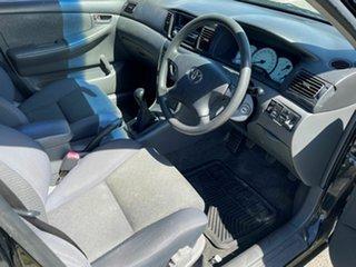 2005 Toyota Corolla ZZE122R Ascent Sport Black 5 Speed Manual Sedan