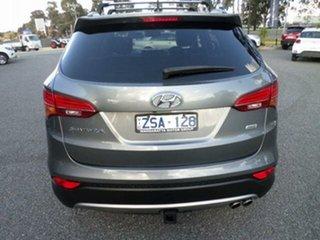 2013 Hyundai Santa Fe DM Highlander CRDi (4x4) Grey 6 Speed Automatic Wagon.