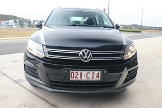 2015 Volkswagen Tiguan 5N MY16 118TSI DSG 2WD Deep Black Pearl Effect 6 Speed.
