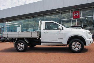 2013 Holden Colorado RG MY13 LX 4x2 White 6 Speed Sports Automatic Cab Chassis.
