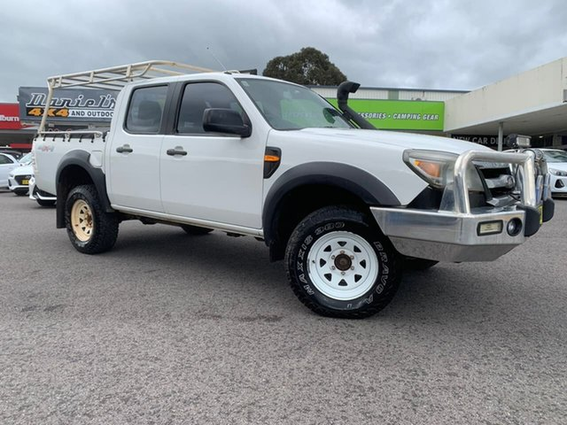 Used Ford Ranger XL Goulburn, 2009 Ford Ranger XL White Automatic Double Cab Pick Up