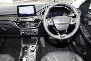 2020 Ford Escape ZH 2020.75MY Vignale White Platinum 8 Speed Sports Automatic SUV