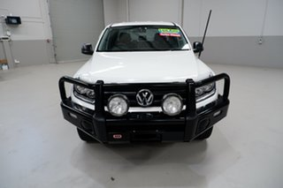 2017 Volkswagen Amarok 2H MY17 TDI420 4x2 White 8 Speed Automatic Utility.