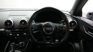 2017 Audi S3 8V MY18 S Tronic Quattro Ibis White 7 Speed Sports Automatic Dual Clutch Cabriolet