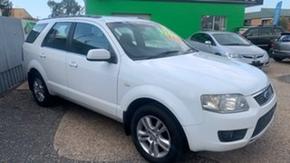 2010 Ford Territory SY TS White Automatic Wagon.