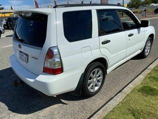 2007 Subaru Forester MY07 XS White 4 Speed Auto Elec Sportshift Wagon