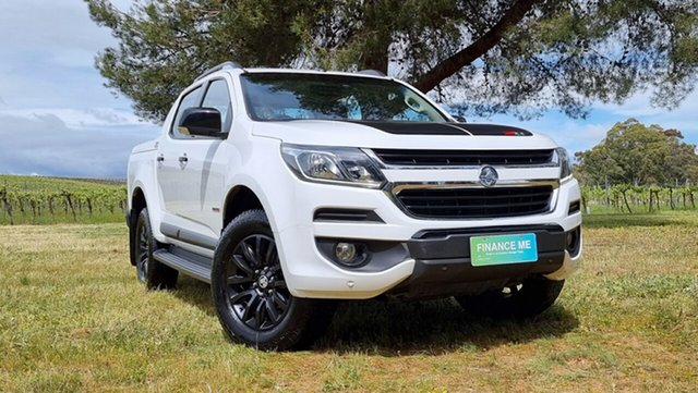 Used Holden Colorado RG MY18 Z71 Pickup Crew Cab Nuriootpa, 2018 Holden Colorado RG MY18 Z71 Pickup Crew Cab White 6 Speed Sports Automatic Utility