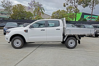 2021 Ford Ranger PX MkIII 2021.25MY XL White 6 Speed Manual Double Cab Chassis