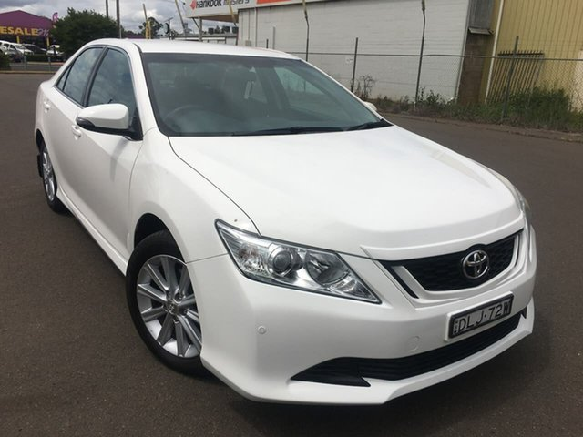 Used Toyota Aurion GSV50R AT-X Dubbo, 2017 Toyota Aurion GSV50R AT-X White Sports Automatic