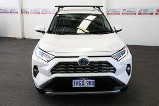 2021 Toyota RAV4 Axah54R Cruiser eFour Crystal Pearl 6 Speed Constant Variable Wagon Hybrid.