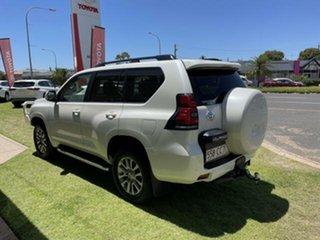 2018 Toyota Landcruiser Prado GDJ150R Kakadu (4x4) Pearl White 6 Speed Automatic Wagon