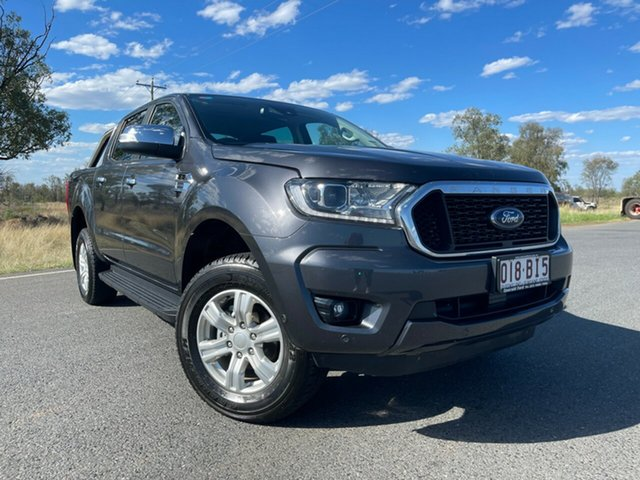 Used Ford Ranger PX MkIII 2021.25MY XLT Emerald, 2021 Ford Ranger PX MkIII 2021.25MY XLT Meteor Grey 10 Speed Sports Automatic Double Cab Pick Up