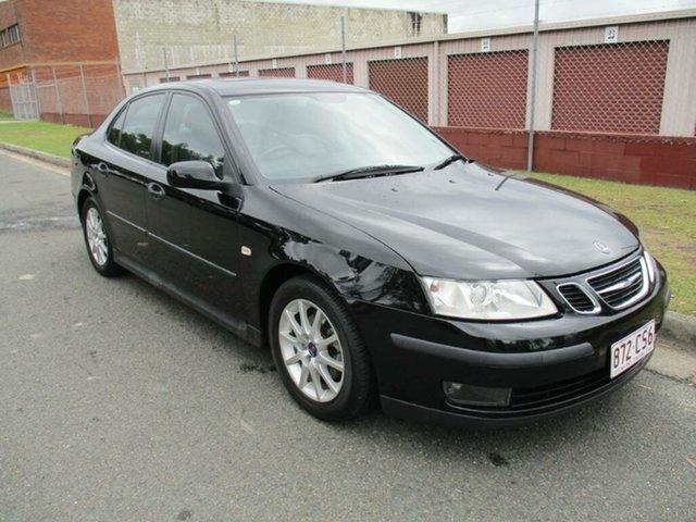 Used Saab 9-3 440 MY2005 Arc Sport Kippa-Ring, 2005 Saab 9-3 440 MY2005 Arc Sport Black 5 Speed Sports Automatic Sedan
