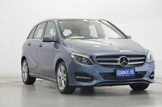 2015 Mercedes-Benz B-Class W246 B200 DCT Blue 7 Speed Sports Automatic Dual Clutch Hatchback