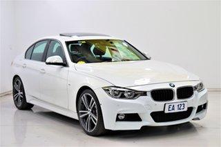 2016 BMW 3 Series F30 LCI 330i Luxury Line White 8 Speed Sports Automatic Sedan