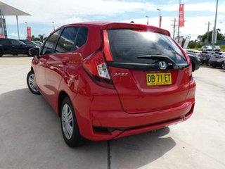 2018 Honda Jazz GF MY18 VTi Red 1 Speed Constant Variable Hatchback.