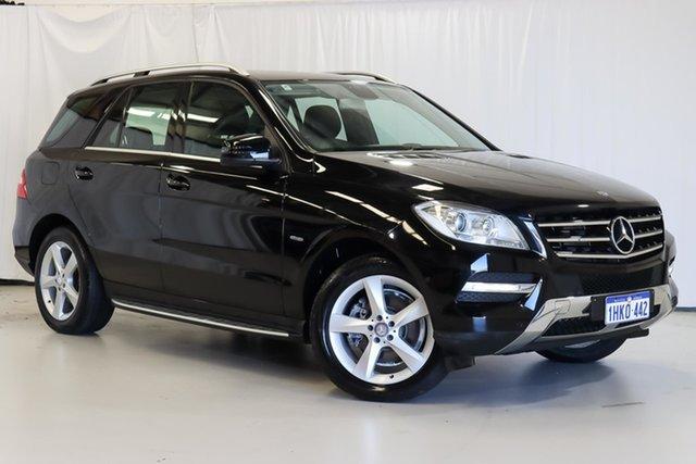 Used Mercedes-Benz M-Class W166 ML250 BlueTEC 7G-Tronic + Wangara, 2012 Mercedes-Benz M-Class W166 ML250 BlueTEC 7G-Tronic + Black 7 Speed Sports Automatic Wagon