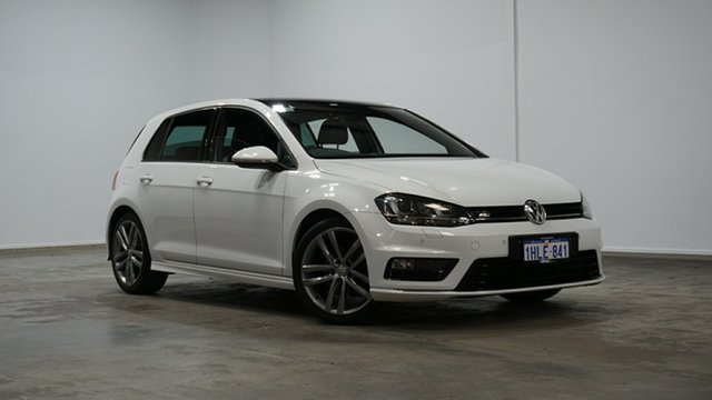 Used Volkswagen Golf VII MY16 110TSI DSG Highline Welshpool, 2016 Volkswagen Golf VII MY16 110TSI DSG Highline White 7 Speed Sports Automatic Dual Clutch