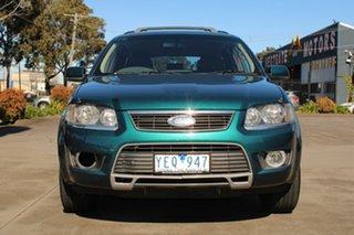 2010 Ford Territory SY MkII TS Limited Edition (4x4) Green 6 Speed Auto Seq Sportshift Wagon.