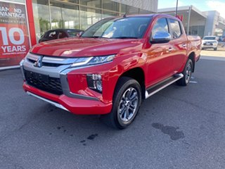 2019 Mitsubishi Triton MR MY20 GLS Double Cab Red 6 Speed Sports Automatic Utility.