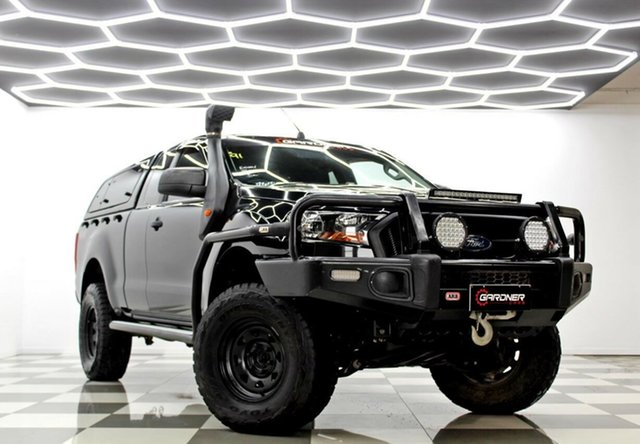 Used Ford Ranger PX MkII MY17 XL 3.2 (4x4) Burleigh Heads, 2016 Ford Ranger PX MkII MY17 XL 3.2 (4x4) Black 6 Speed Manual Super Cab Utility