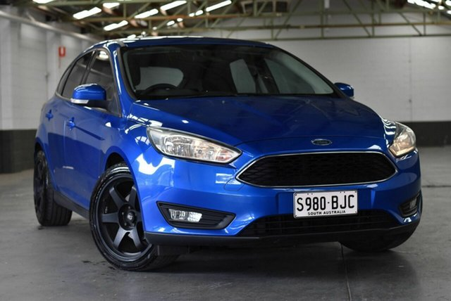 Used Ford Focus LW MkII MY14 Trend PwrShift Morphett Vale, 2015 Ford Focus LW MkII MY14 Trend PwrShift Blue 6 Speed Sports Automatic Dual Clutch Hatchback
