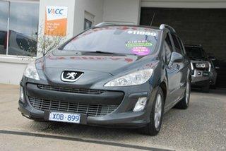 2009 Peugeot 308 Touring XSE HDi 2.0 Grey 6 Speed Automatic Wagon.