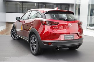 2021 Mazda CX-3 DK2W7A Akari SKYACTIV-Drive FWD Soul Red Crystal 6 Speed Sports Automatic Wagon.