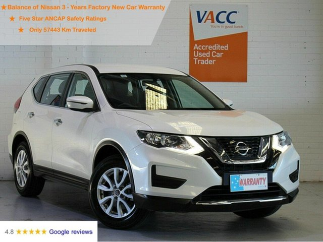 Used Nissan X-Trail T32 Series II ST X-tronic 2WD Moorabbin, 2019 Nissan X-Trail T32 Series II ST X-tronic 2WD White 7 Speed Constant Variable Wagon