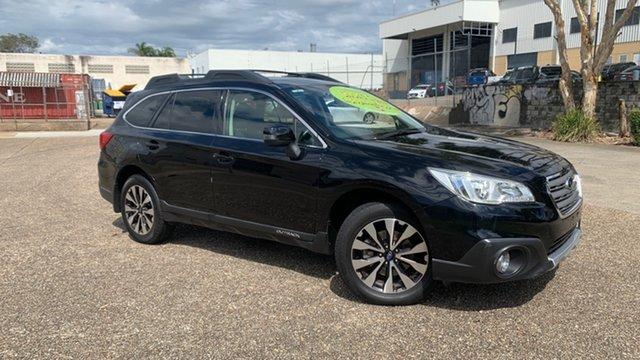 Used Subaru Outback MY15 2.5i AWD Underwood, 2015 Subaru Outback MY15 2.5i AWD Black Continuous Variable Wagon