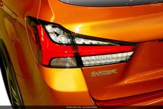 2021 Mitsubishi ASX XD MY21 XLS Plus 2WD Sunshine Orange 1 Speed Constant Variable Wagon