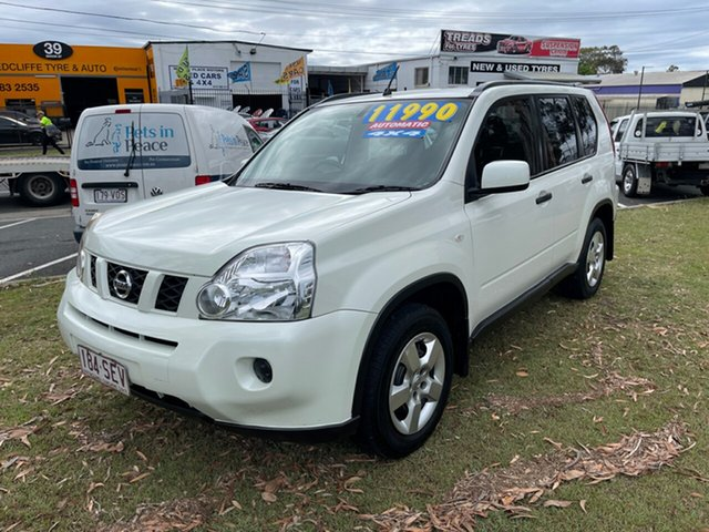 Used Nissan X-Trail T31 MY10 ST Clontarf, 2009 Nissan X-Trail T31 MY10 ST White 1 Speed Constant Variable Wagon