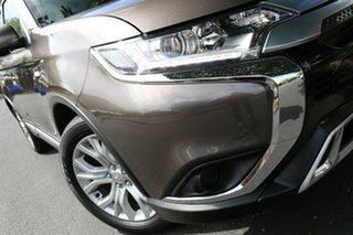 2019 Mitsubishi Outlander ZL MY19 ES 2WD Brown 6 Speed Constant Variable Wagon.