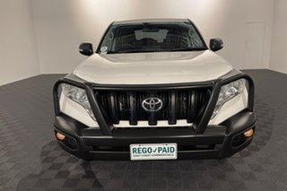 2017 Toyota Landcruiser Prado GDJ150R GX White 6 speed Automatic Wagon.