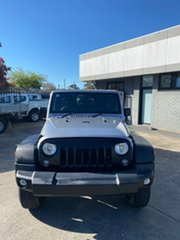 2018 Jeep Wrangler JK MY18 Unlimited Sport Silver 5 Speed Automatic Softtop.