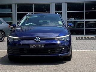 2021 Volkswagen Golf 8 MY21 110TSI Life Blue 8 Speed Sports Automatic Wagon.