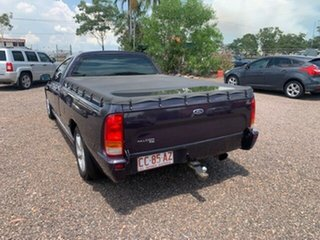 2005 Ford Falcon BA Purple 4 Speed Auto Active Select Utility