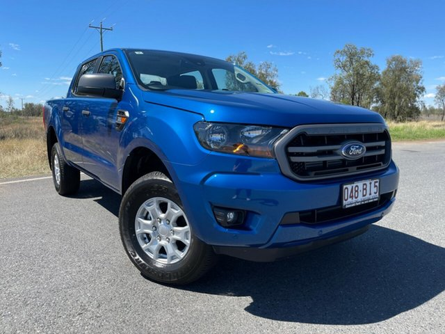 Used Ford Ranger PX MkIII 2021.25MY XLS Emerald, 2021 Ford Ranger PX MkIII 2021.25MY XLS Blue Lightning 6 Speed Sports Automatic Double Cab Pick Up