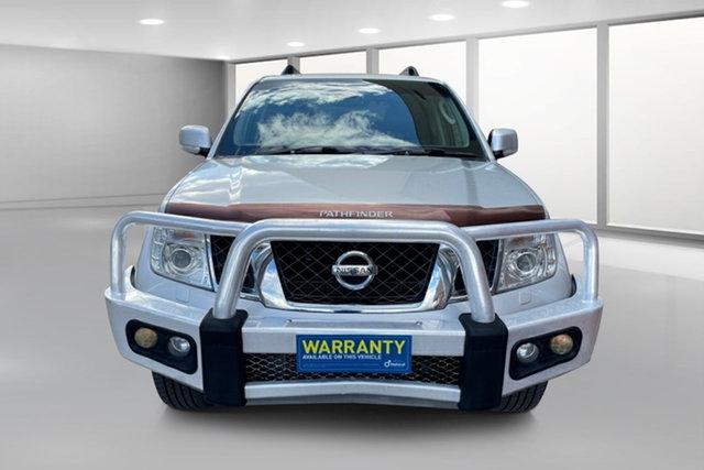 Used Nissan Pathfinder R51 MY10 Ti 550 West Footscray, 2011 Nissan Pathfinder R51 MY10 Ti 550 Silver 7 Speed Sports Automatic Wagon