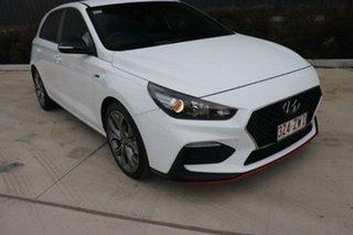 2020 Hyundai i30 PD.3 MY20 N Line D-CT Ceramic White 7 Speed Sports Automatic Dual Clutch Hatchback.