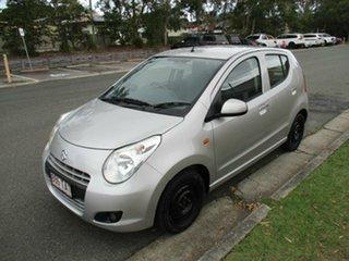 2012 Suzuki Alto GF GL Silver 4 Speed Automatic Hatchback