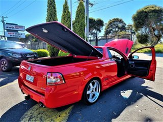 2012 Holden Ute VE II MY12 SS Red 6 Speed Sports Automatic Utility