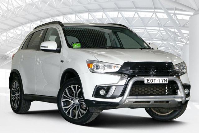 Used Mitsubishi ASX XC MY18 LS (2WD) Moorebank, 2018 Mitsubishi ASX XC MY18 LS (2WD) White Continuous Variable Wagon
