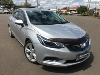 2017 Holden Astra BL LTZ Silver Sports Automatic.