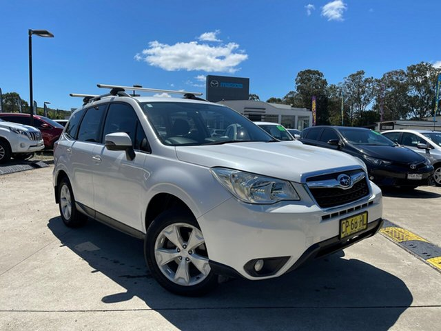 Used Subaru Forester S4 MY13 2.5i-L Lineartronic AWD Glendale, 2012 Subaru Forester S4 MY13 2.5i-L Lineartronic AWD White 6 Speed Constant Variable Wagon