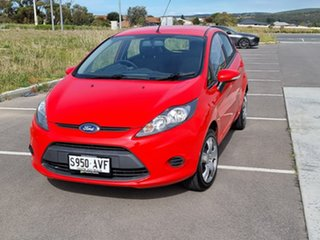 2012 Ford Fiesta WT CL PwrShift Red 6 Speed Sports Automatic Dual Clutch Hatchback.
