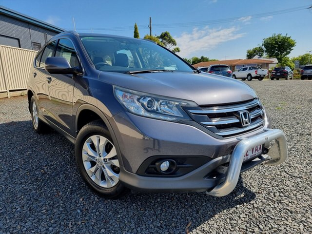 Used Honda CR-V RM MY15 VTi-S 4WD Toowoomba, 2014 Honda CR-V RM MY15 VTi-S 4WD Grey 5 Speed Sports Automatic Wagon