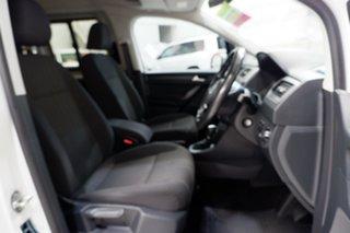 2017 Volkswagen Caddy 2K MY17.5 TSI220 Maxi DSG Comfortline White 7 Speed