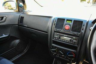 2008 Hyundai Getz TB MY09 S Ice Blue 4 Speed Automatic Hatchback