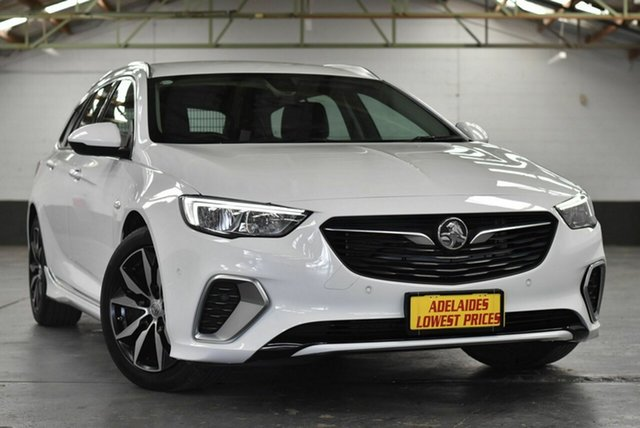 Used Holden Commodore ZB MY18 RS Sportwagon Morphett Vale, 2018 Holden Commodore ZB MY18 RS Sportwagon White 9 Speed Sports Automatic Wagon